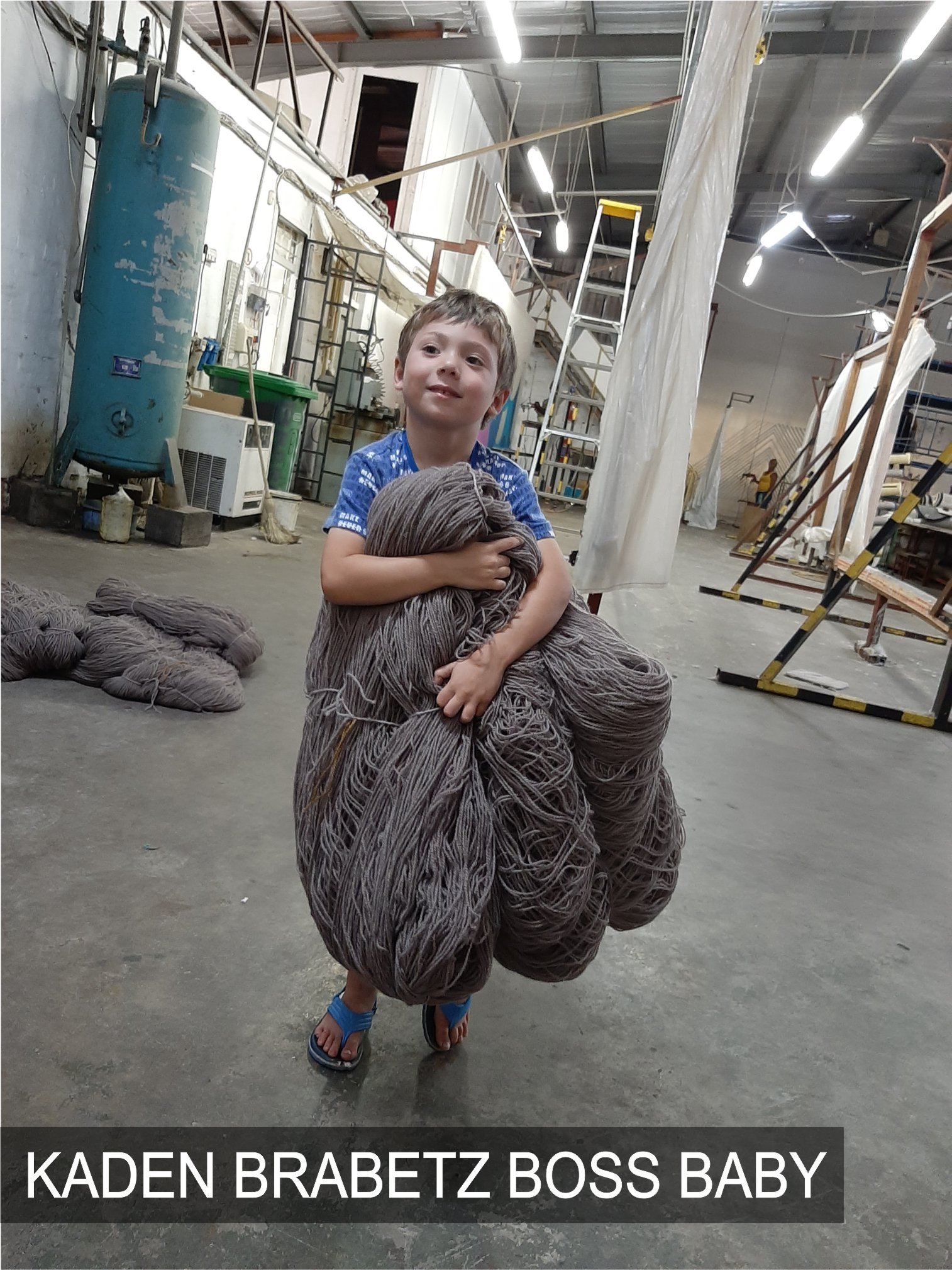 Brabetz Custom Rugs | Kaden Brabetz Boss Baby