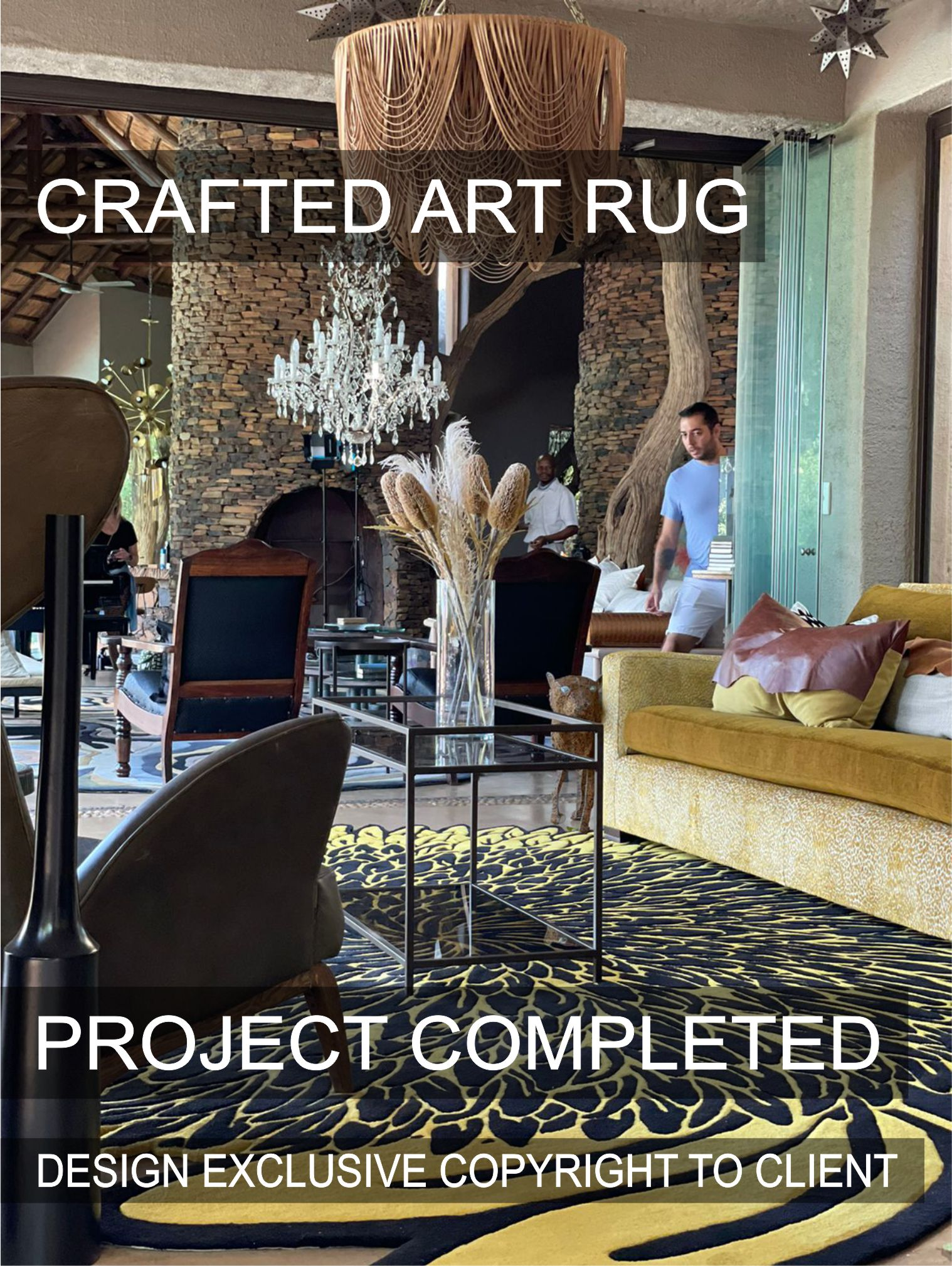 Crafted Art Rugs | Brabetz Crafted Art Rugs | Completed Project