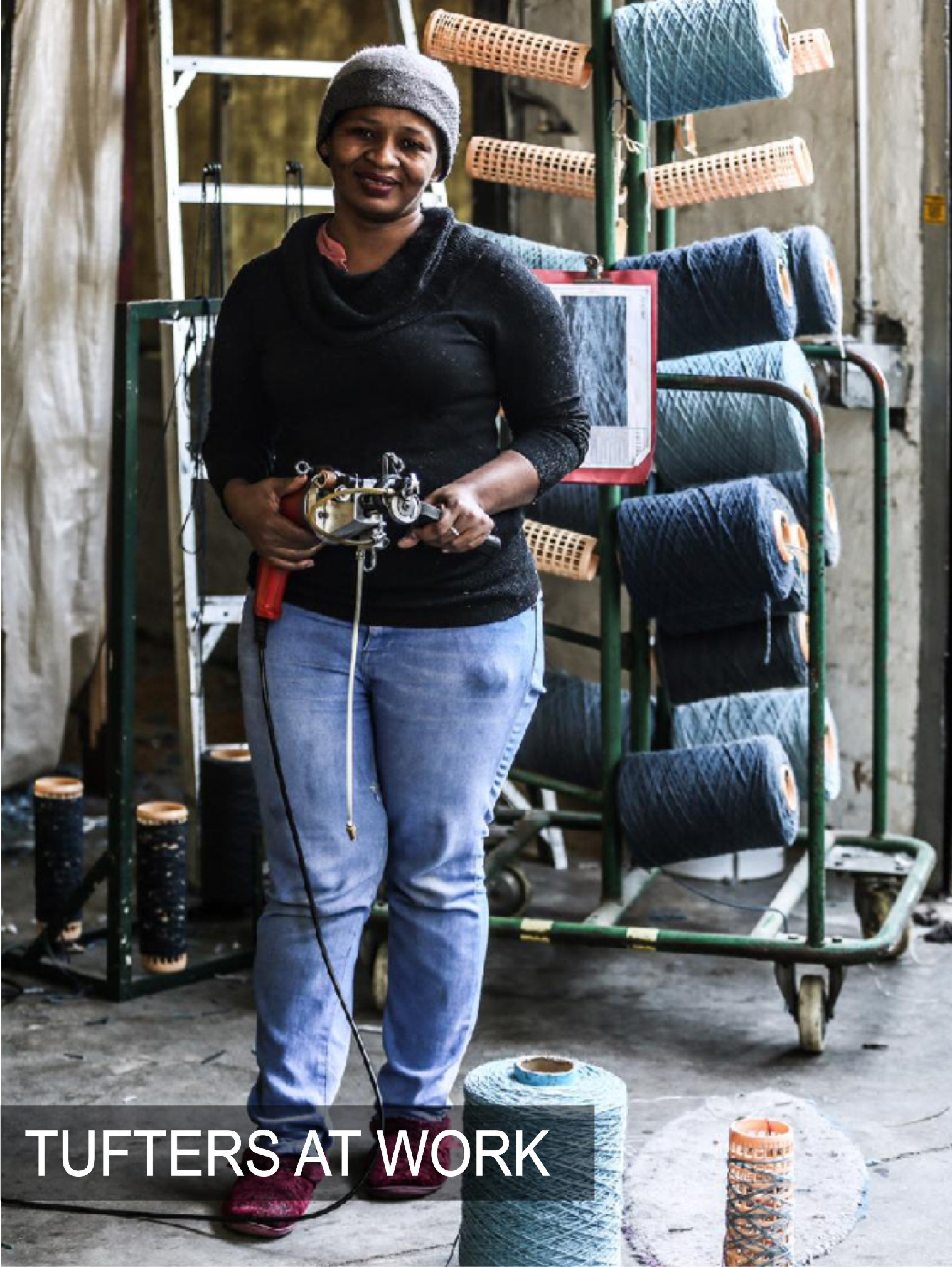 Brabetz Custom Rugs | Tufters at Work